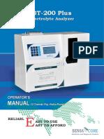 Diengiaido ST-200Plus Electrolyte Analyzer