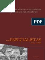 LOS ESPECIALISTAS EN EL MUSEO