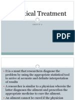 Statistical Treatment