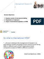 MHR22 International HRM