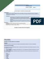 KBDD Planeacion de Actividades U1