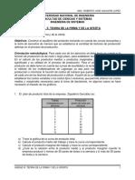 Unidad III Guia No. 5 Teoria de La Firma y de La Oferta