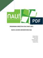 Programa NAU Directiva FEUC 2011