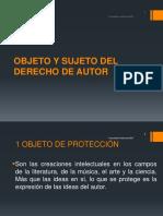 Sesion 6 Objeto y Sujeto Del Derecho de Autor - Sociedades Colectivas