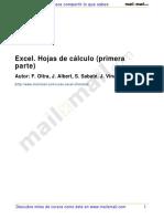 Excel Hojas Calculo Primera Parte 22639