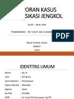 Laporan Kasus Intoksikasi Jengkol 2003