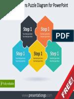 5-Step-Hexagon-Puzzle-Diagram-PGo.pptx