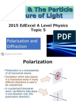 5. Polarisation and Diffraction