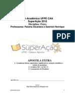 1-Grandezas físicas, algarismos significativos, notação científica e ordem de grandeza 2-GráficosMU&MUV 3 Lançamento de Projéteis _ PDF