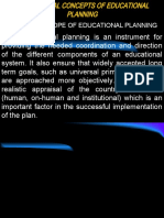 Copy of Fundamental Concepts of Educational Planning
