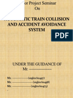 Automatic Train Collision and Accident Avoidance System Ppt