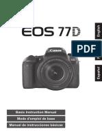 Eos 77d Manualbasico
