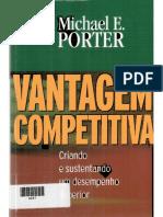Michael Poter Vantagem Competitiva
