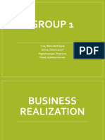 Business Realizations