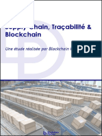 Etude Supply Chain Traçabilité Blockchain