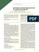Hipertensión Arterial e Hiperpotasemia