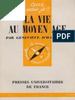 D'Haucourt Geneviève - La vie au Moyen Age.pdf