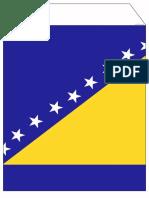T T 27185 Boznia Herzegovina Flag Bunting