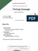 Anti-Phishing (DMARC) Webinar RBI India