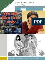 Understanding Consumer India's demand Structure