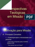 Desenvolvimento Teologia Missao Adventista