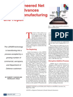 Lens Advances Manufacturing and Repair