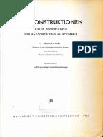 Leopold WIel Baukonstruktion - Auszüge