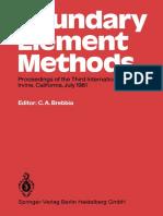 (Boundary Elements 3) George T. Symm (auth.), Dr. Carlos A. Brebbia (eds.) - Boundary Element Methods_ Proceedings of the Third International Seminar, Irvine, California, July 1981-Springer-Verlag Ber.pdf