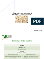 2. Léxico y Semántica