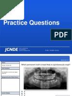 INBDE Practice Questions
