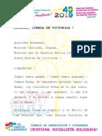 Mujeres, Fuerza de Victorias ! - 8 Marzo 2019