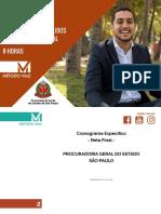 Plano de Estudos PGM RJ