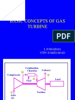 Presentation on Gas Turbine