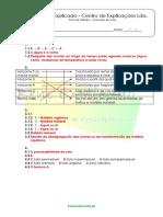 6.2 as Rochas, o Solo e Os Seres Vivos - Formação Dos Solos - Ficha de Trabalho (2) - Soluções
