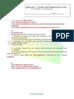 6.2 as Rochas, o Solo e Os Seres Vivos - Formação Dos Solos - Ficha de Trabalho (3) - Soluções