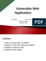 Damn-Vulnerable-Web-Applications.pptx