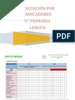 Cuadernillo para evaluar lengua 2º primaria