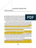Mathematics and the Liberal Arts