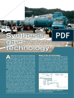 Topsoe Synthesis Gas Technology