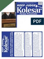 Keep Judge Kolesar Prosecutor Endorsements