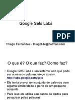 Google Set Labs