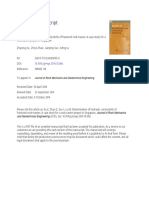 Determination of hydraulic conductivity of fractured rock masses A case study for a rock.docx