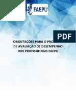 MANUAL DE AVALIAÇÃO DE DESEMPENHO