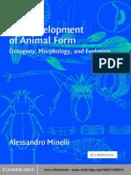 Minelli (2003) The development of Animal form.pdf