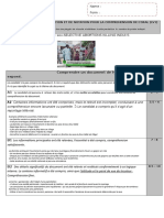 Fiche Evaluation Et de Notation Comprehension Gendercide