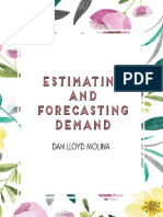 Estimating and Forecasting Demand
