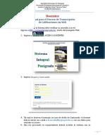 Manual de transcripción de la UPEL