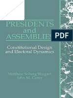 PRESIDENTS AND ASSEMBLIES Matthew Soberg Shugart,John M. Carey.pdf