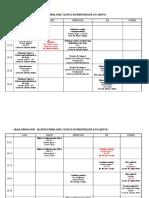 Orar 2018-2019 master Clinica