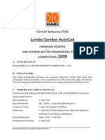 Pandual Lomba AutoCAD HAKI 2019